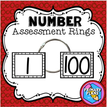 Numbers 1-100 Assessment Rings