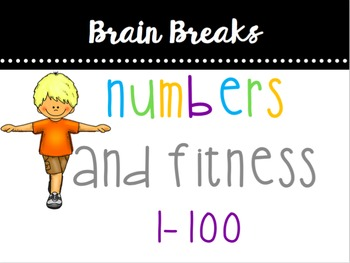 Numbers (1-100) & Fitness Brain Break
