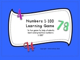 Numbers 1-100 Learning Game