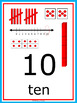 Numbers 1-100 Poster Set - Dr. Seuss Tribute Colors