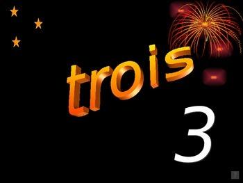 Numbers 1-100 Powerpoint/video (En francais!!)