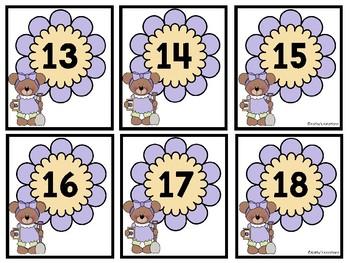 Numbers 1-100  -Springtime  (Dollar Deal)