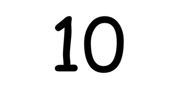 Numbers 1-100 by tens Spanish (words included)