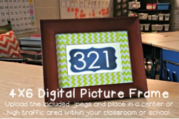 Numbers 1-1,000: 2nd Grade Edition { Digital Picture Frame 4x6 }