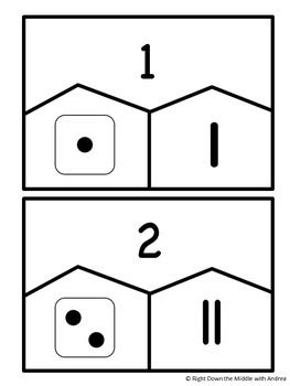 Numbers 1-12 {Center Activity}