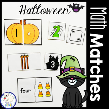 Halloween Math Matches