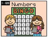 Numbers 1-120 Bingo