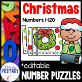 Numbers 1-120: Christmas Number Puzzles