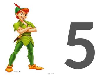 Numbers 1 -120 Disney