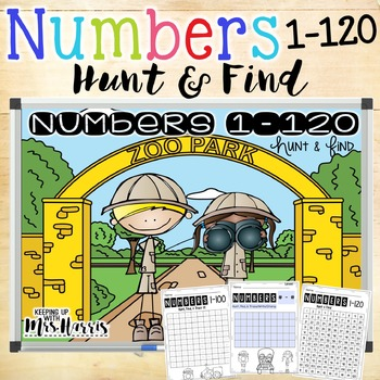 Numbers 1-120 Hunt and Find