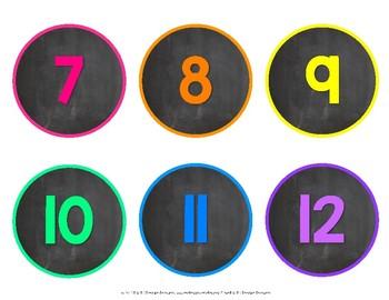 Number Line 1-120 {Neon}