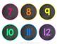 Numbers 1-120 {Number Line}