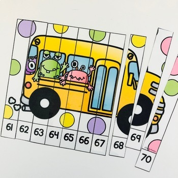 Numbers 1-120: Transportation Number Puzzles