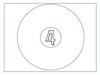 Numbers 1-19 Circle Maps