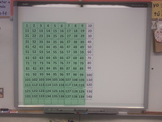 Numbers 1-120 140 HUGE Focus Wall Bulletin Board Daily Cou