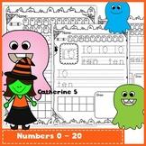 Number Sense to 20 - Halloween Math