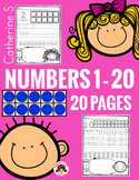 Tracing Numbers 1 - 20