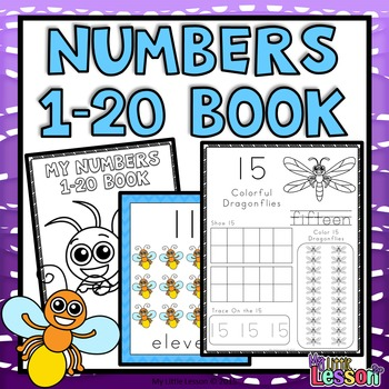 Numbers 1-20: Worksheets and Number Posters by My Little Lesson | TpT