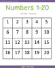 Numbers 1-20