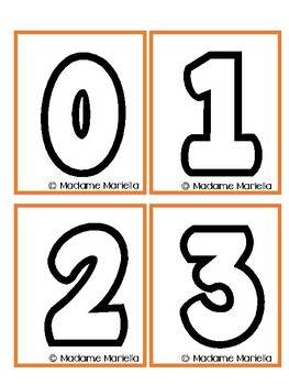 Numbers 1- 20