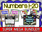Numbers 1-20 Activities MEGA BUNDLE!