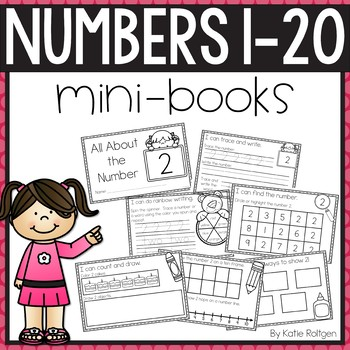 Numbers 1-20 Activities: Mini Books