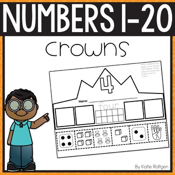 Numbers 1-20 Activities: Number Crowns