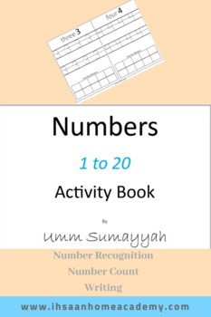 Numbers 1 - 20 Activity Book