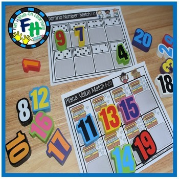 Numbers 1-20 Activity Mats
