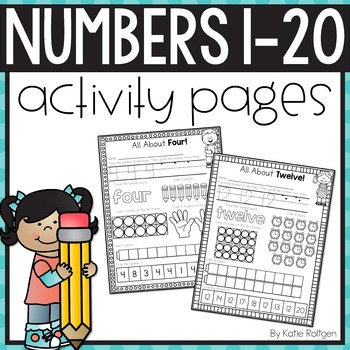 Numbers 1-20 Activity Pages