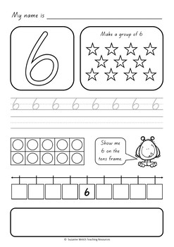 Numbers 1-20  -  Activity Sheets