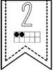 Numbers 1-20 Banner Pennants