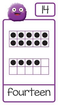 Numbers 1-20 Bulletin Board Set