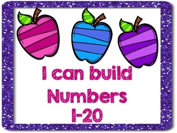 Numbers 1-20 Center