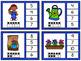 Numbers 1-20 Clip Card Bundle: Spring Garden