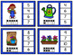 Numbers 1-20 Clip Card Bundle: Spring Garden