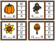 Numbers 1-20 Clip Cards: Autumn Fun {BUNDLE}