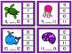 Numbers 1-20 Clip Cards: Sea Life {BUNDLE}