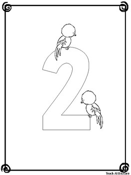 Numbers 1-20 Coloring Book. Preschool-KDG Numbers and Math.