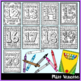 Color And Count Food-Themed Numbers Coloring Pages 0-20 - Distance Learning