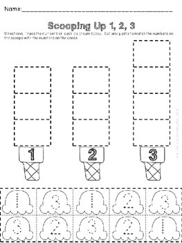 Numbers 1-20: Count, Sort, Compose, Decompose, Greater Than, Less Than