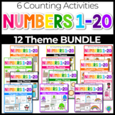 Numbers 1-20 Counting Activities BUNDLE | Counting to 20 | Math Centers