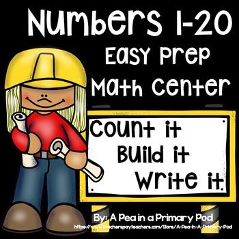Numbers 1-20 Counting Center