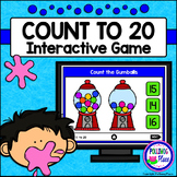 Numbers 1-20: Counting Game for PowerPoint - Gumballs