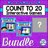 Numbers 1-20: Counting Games for PowerPoint BUNDLE