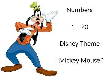 Numbers 1-20 (Disney)
