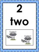 Numbers 1 - 20 Flash Cards
