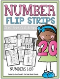 Numbers 1-20 Flip Strips