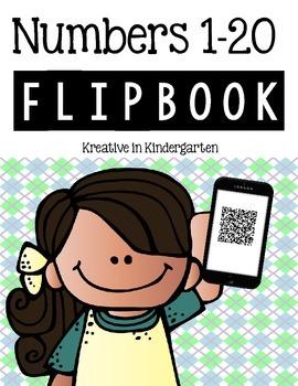 Numbers 1-20 Flipbook
