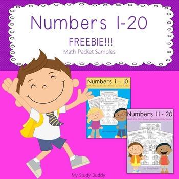 Numbers 1-20 Freebie!!!